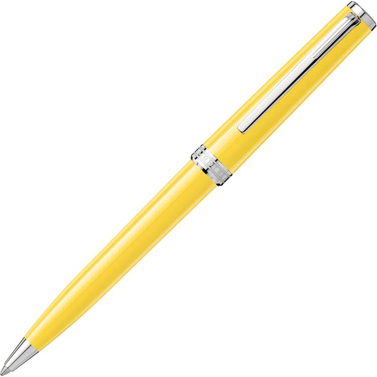 Montblanc PIX Mustard Yellow Ballpoint Pen 125240