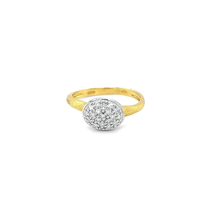 Zlatý Prsten s Diamanty Marco Bicego Siviglia