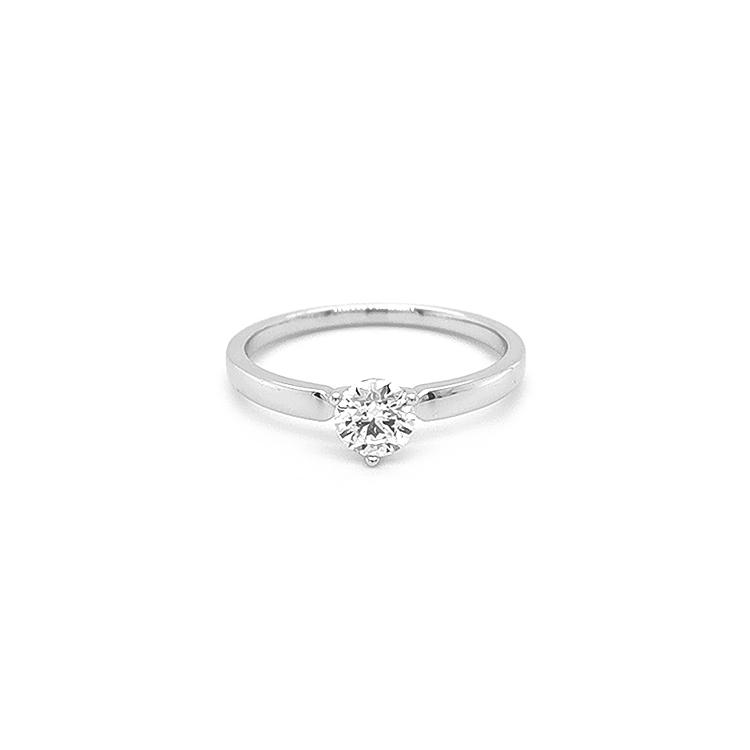 Zlatý Zásnubí Prsten s Diamantem