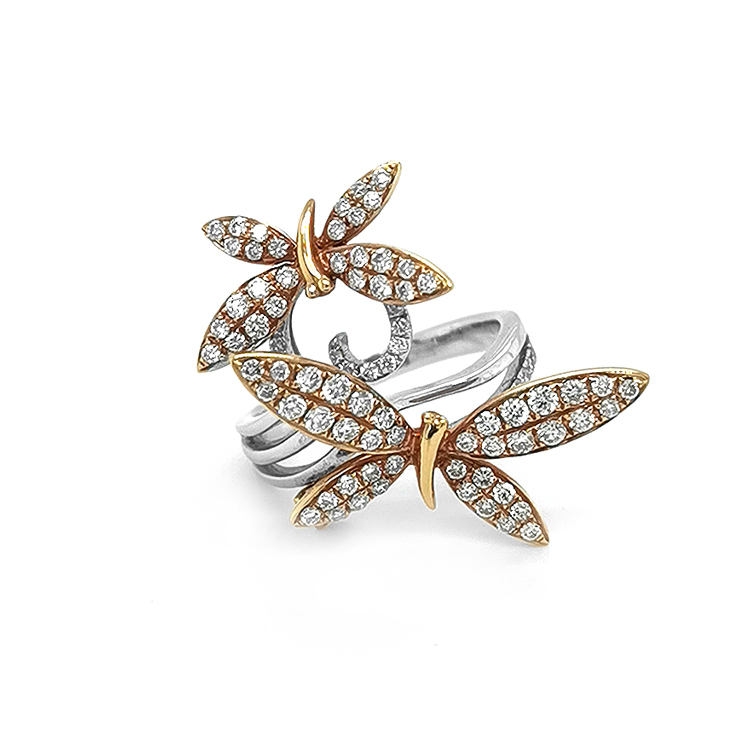 Zlatý Prsten se Diamanty