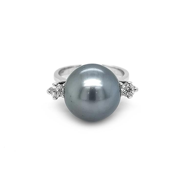 Zlatý Prsten s Přírodní Perlou