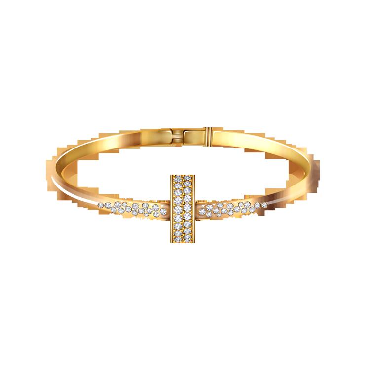 Zlatý Náramek s Diamanty