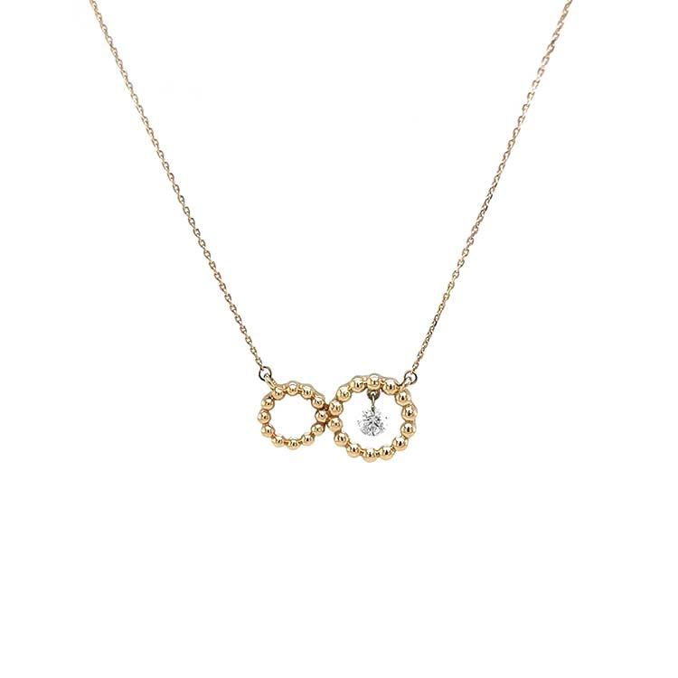 Zlatý Náhrdelník s Diamantem
