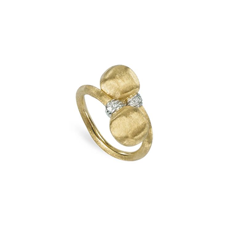 Zlatý Prsten s Diamanty Marco Bicego Africa