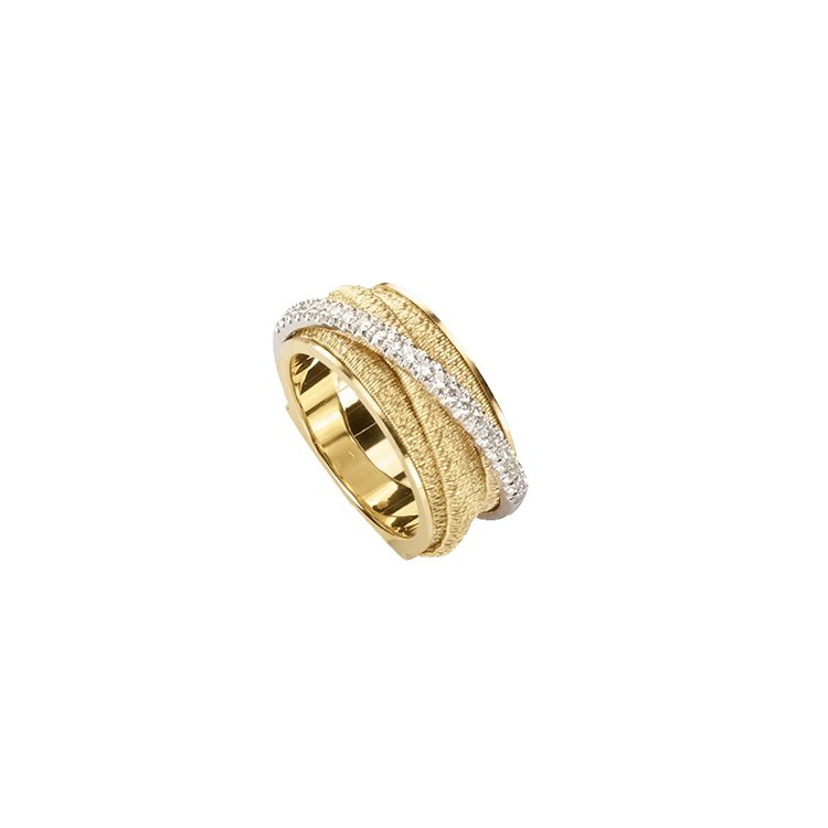 Zlatý Prsten s Diamanty Marco Bicego Cairo