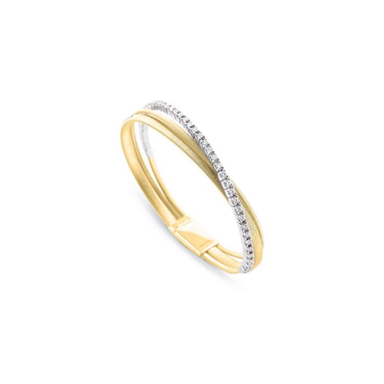 Zlatý Náramek s Diamanty Marco Bicego Cairo