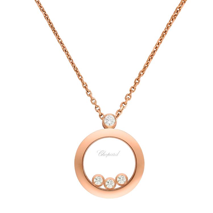 Zlatý Přívěsek Chopard Happy Diamonds 793929-5201
