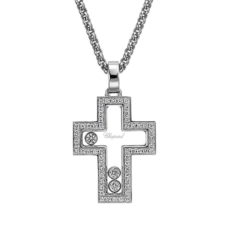 Zlatý Přívěsek Chopard Happy Diamonds 794055-1001
