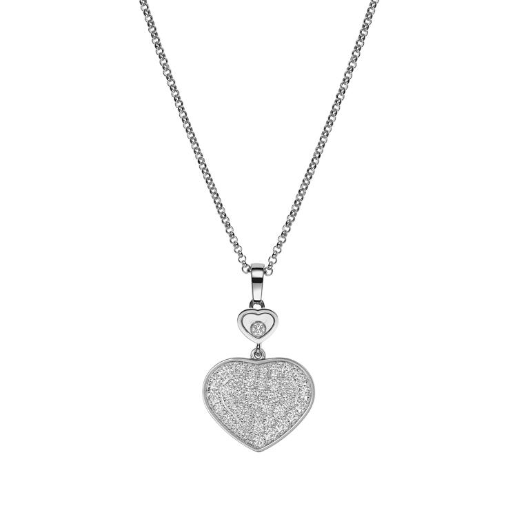 Zlatý Přívěsek Chopard Happy Hearts 797482-1009