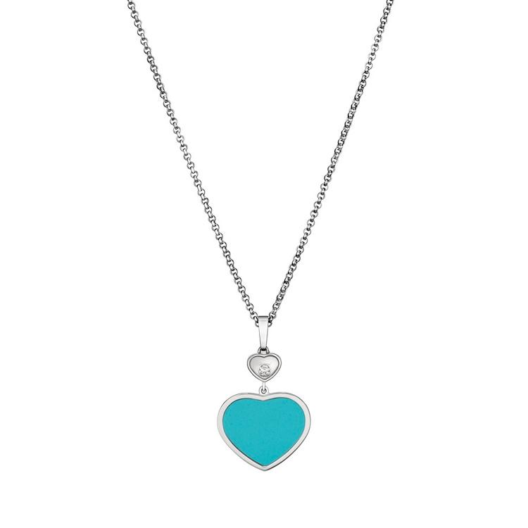 Zlatý Přívěsek Chopard Happy Hearts 797482-1401