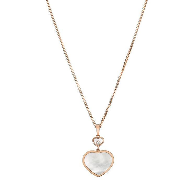 Zlatý Přívěsek Chopard Happy Hearts 797482-5301