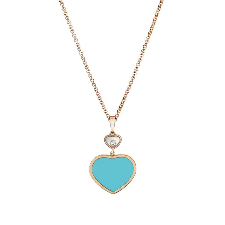 Zlatý Přívěsek Chopard Happy Hearts 797482-5401