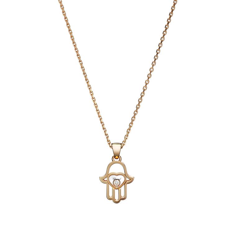 Zlatý Přívěsek Chopard Happy Diamonds 797864-5001