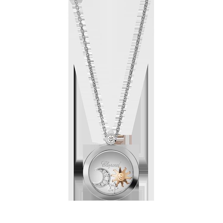Zlatý Přívěsek Chopard Happy Diamonds 799434-1201