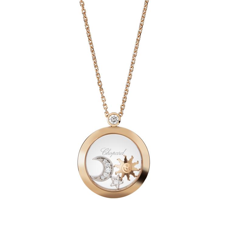 Zlatý Přívěsek Chopard Happy Diamonds 799434-5201