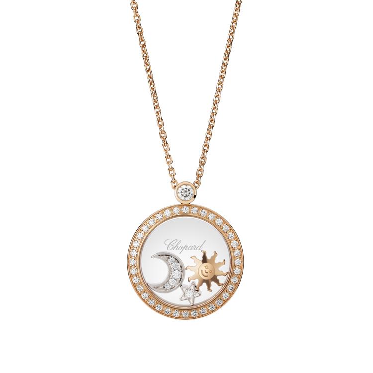 Zlatý Přívěsek Chopard Happy Diamonds 799434-5401
