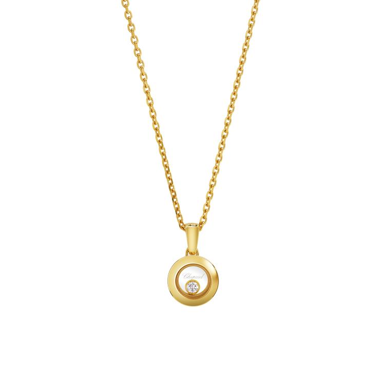 Zlatý Přívěsek Chopard Happy Diamonds 79A017-0001