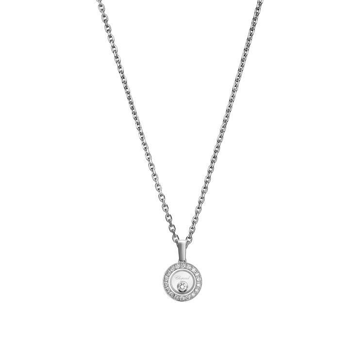 Zlatý Přívěsek Chopard Happy Diamonds 79A017-1201
