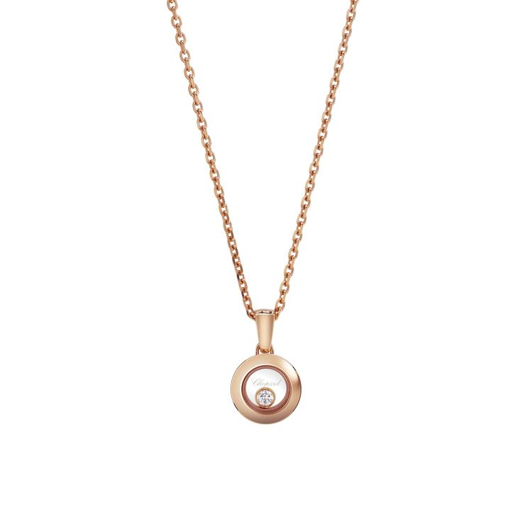 Zlatý Přívěsek Chopard Happy Diamonds 79A017-5001