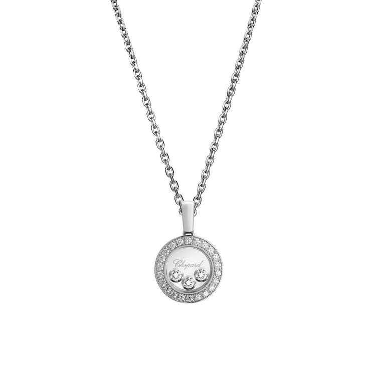 Zlatý Přívěsek Chopard Happy Diamonds 79A018-1201