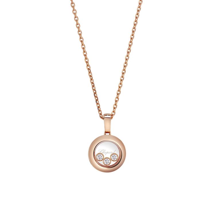 Zlatý Přívěsek Chopard Happy Diamonds 79A018-5001