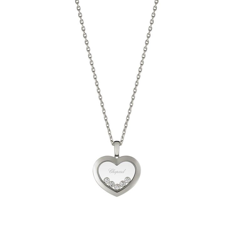 Zlatý Přívěsek Chopard Happy Diamonds 79A038-1001