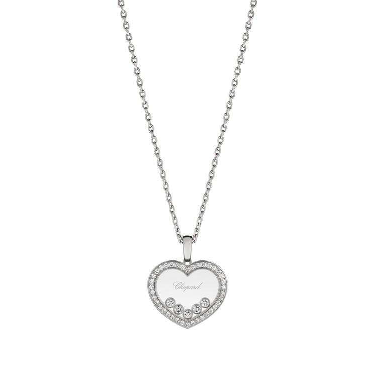 Zlatý Přívěsek Chopard Happy Diamonds 79A038-1201