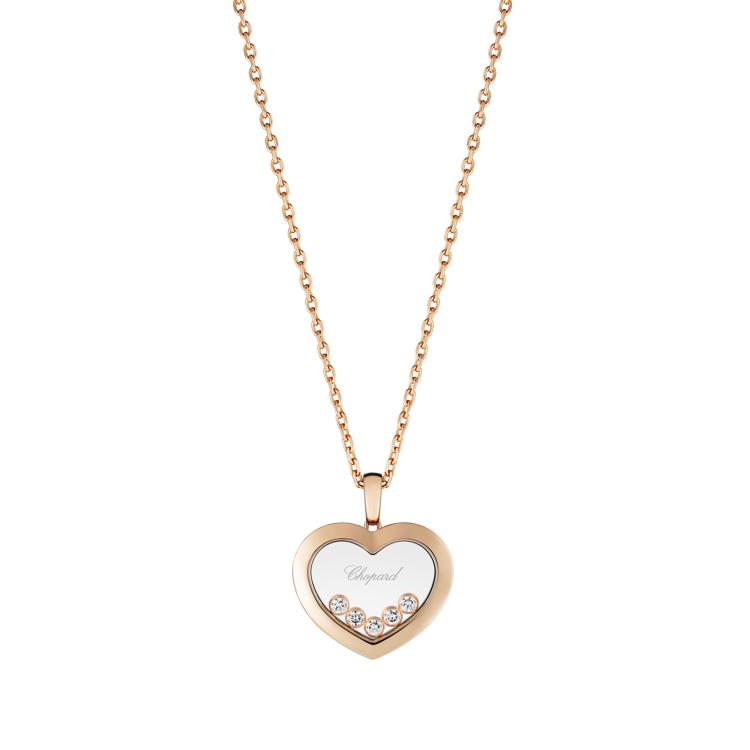 Zlatý Náhrdelník Chopard Happy Diamonds  79A038-5001
