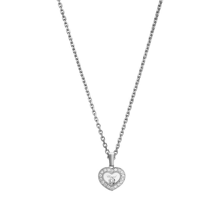 Zlatý Přívěsek Chopard Happy Diamonds 79A054-1201