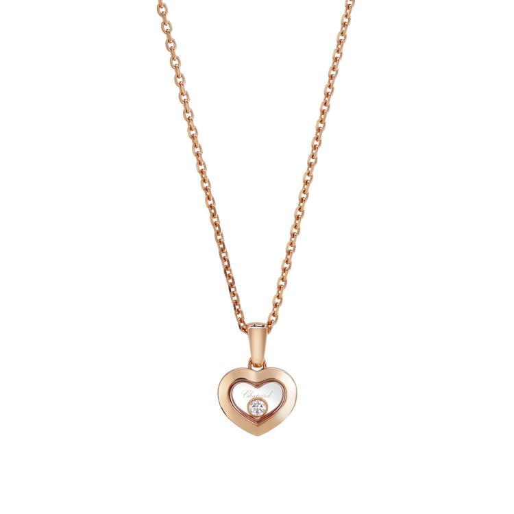 Zlatý Přívěsek Chopard Happy Diamonds 79A054-5001