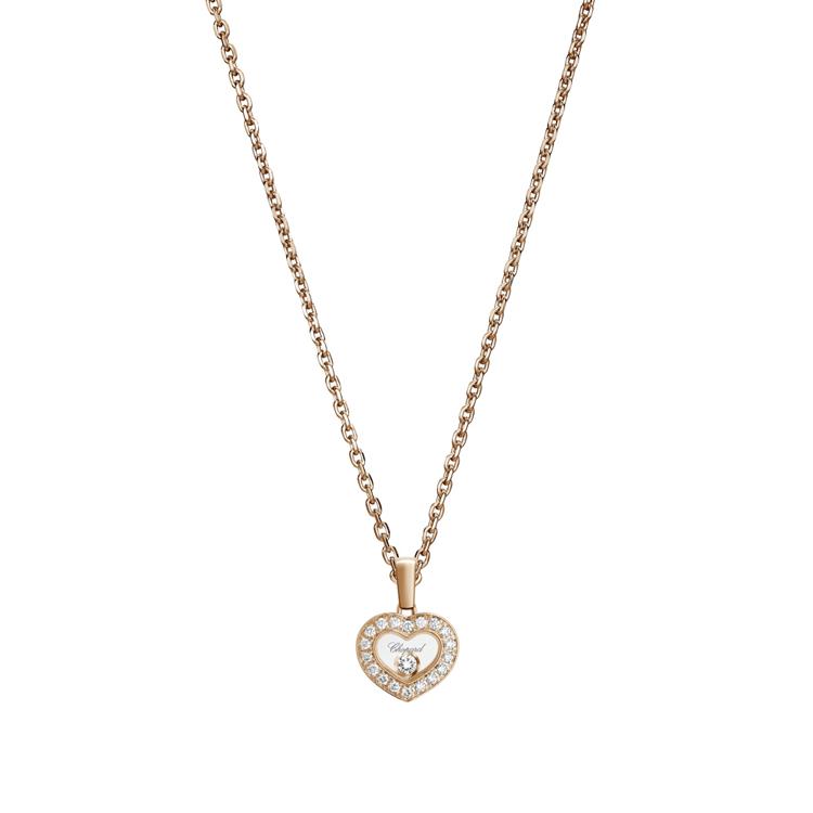 Zlatý Přívěsek Chopard Happy Diamonds 79A054-5201