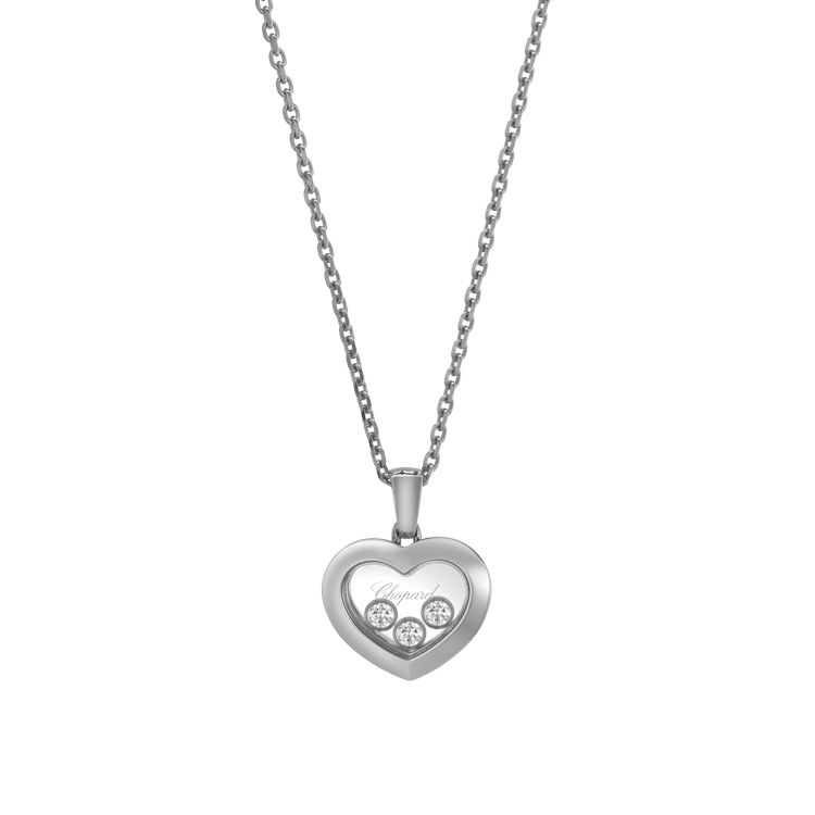 Zlatý Přívěsek Chopard Happy Diamonds 79A611-1001