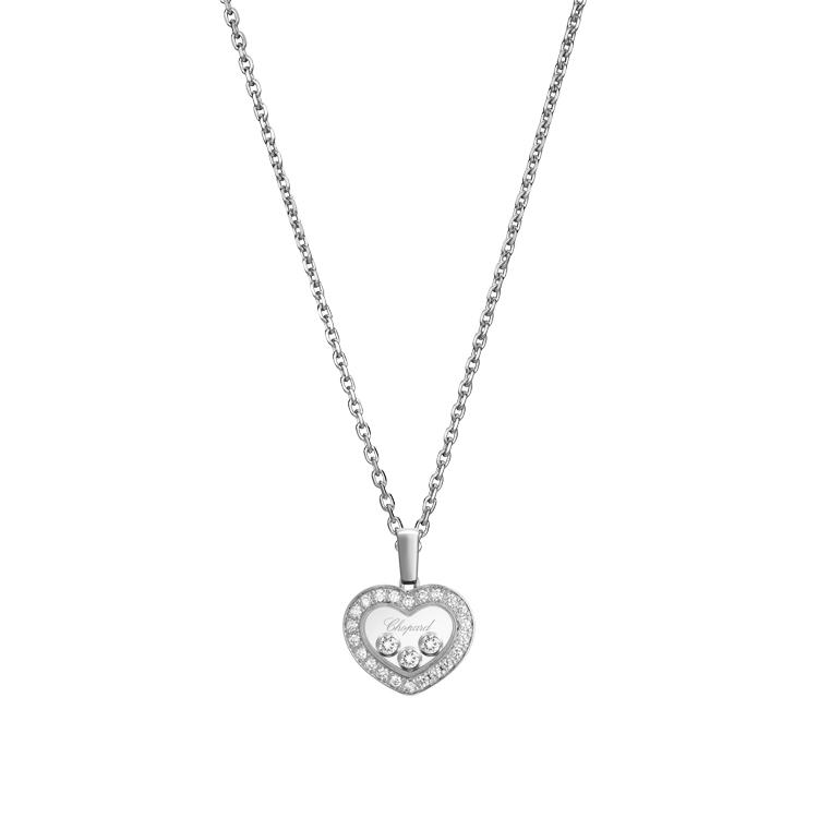 Zlatý Přívěsek Chopard Happy Diamonds 79A611-1201