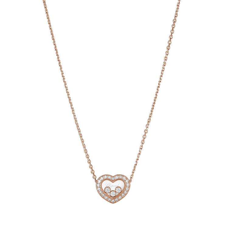 Zlatý Přívěsek Chopard Happy Diamonds 79A611-5201