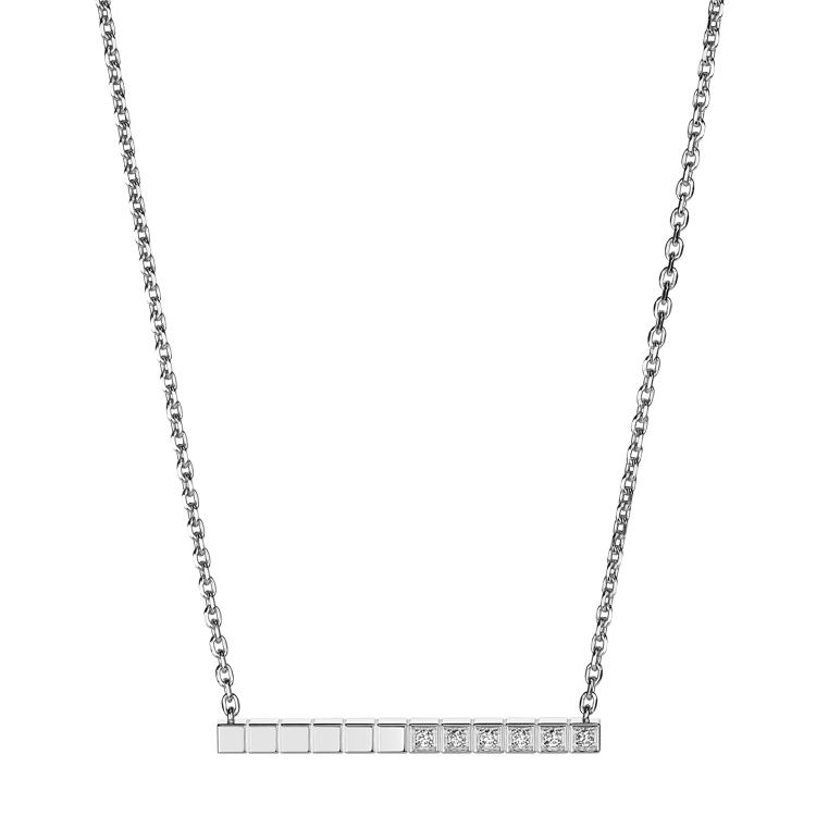 Zlatý Náhrdelník Chopard Ice Cube Pure 817702-1002