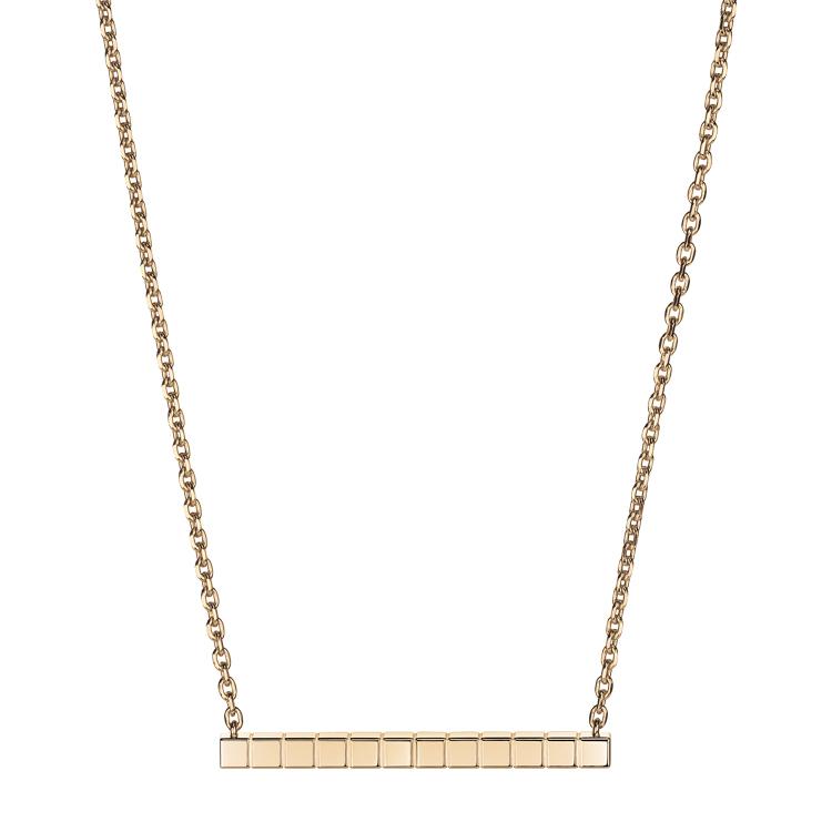 Zlatý Náhrdelník Chopard Ice Cube Pure 817702-5001