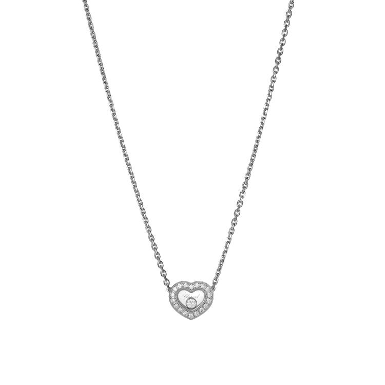 Zlatý Náhrdelník Chopard Happy Diamonds 81A054-1201