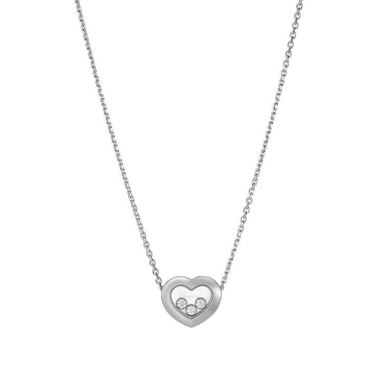 Zlatý Náhrdelník Chopard Happy Diamonds 81A611-1001