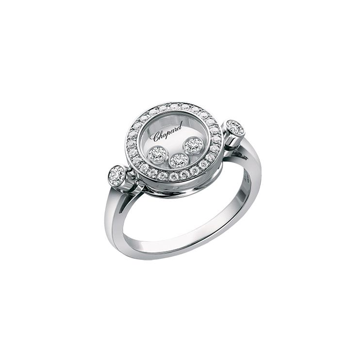 Zlatý Prsten Chopard Happy Diamonds 823957-1510
