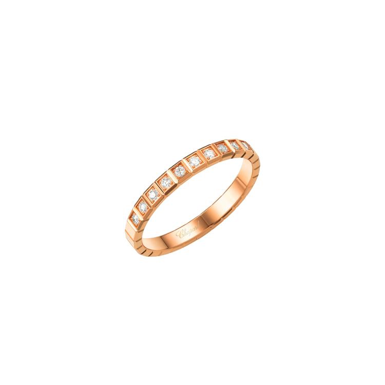 Zlatý Prsten Chopard Ice Cube Pure 827702-5258