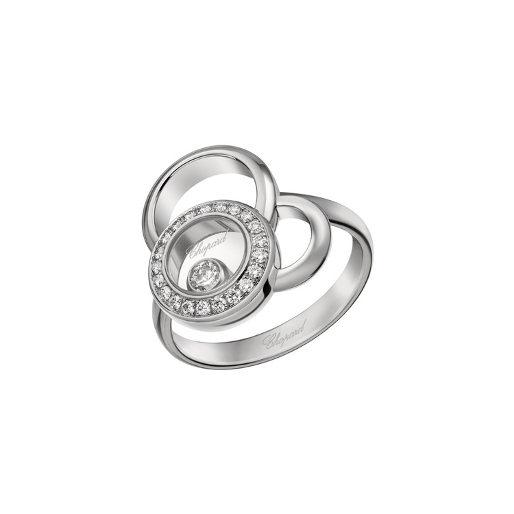 Zlatý Prsten Chopard Happy Diamonds 829769-1011