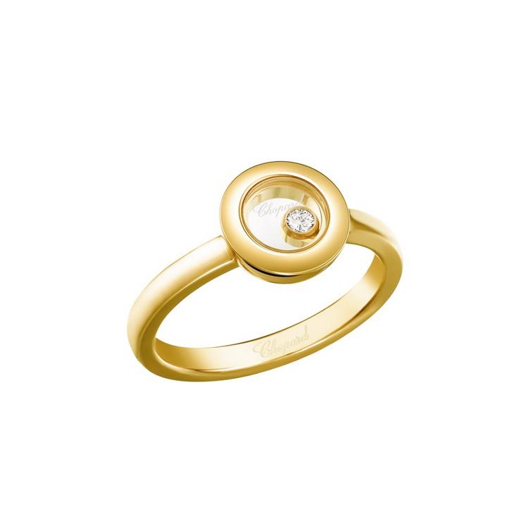 Zlatý Prsten Chopard Happy Diamonds 82A017-0109