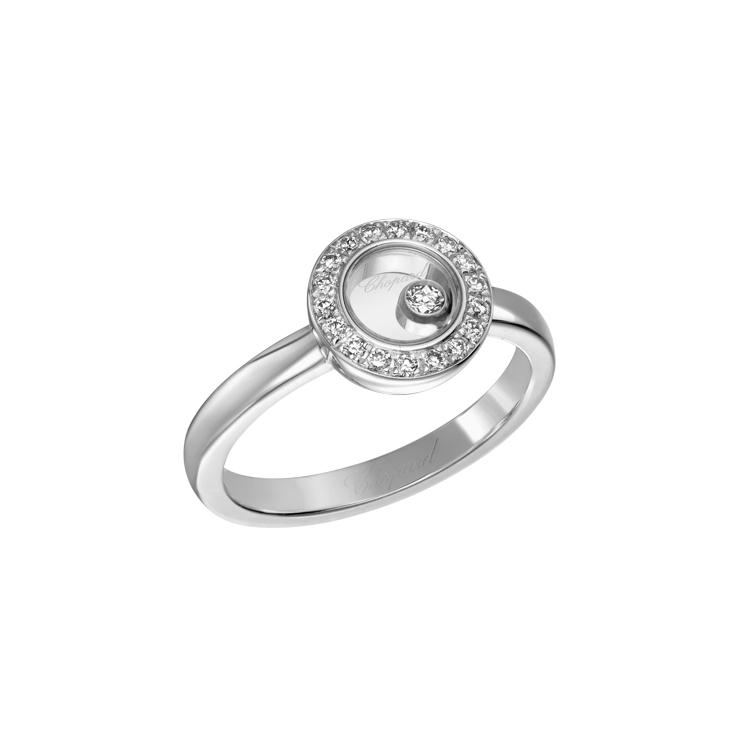 Zlatý Prsten Chopard Happy Diamonds 82A017-1210