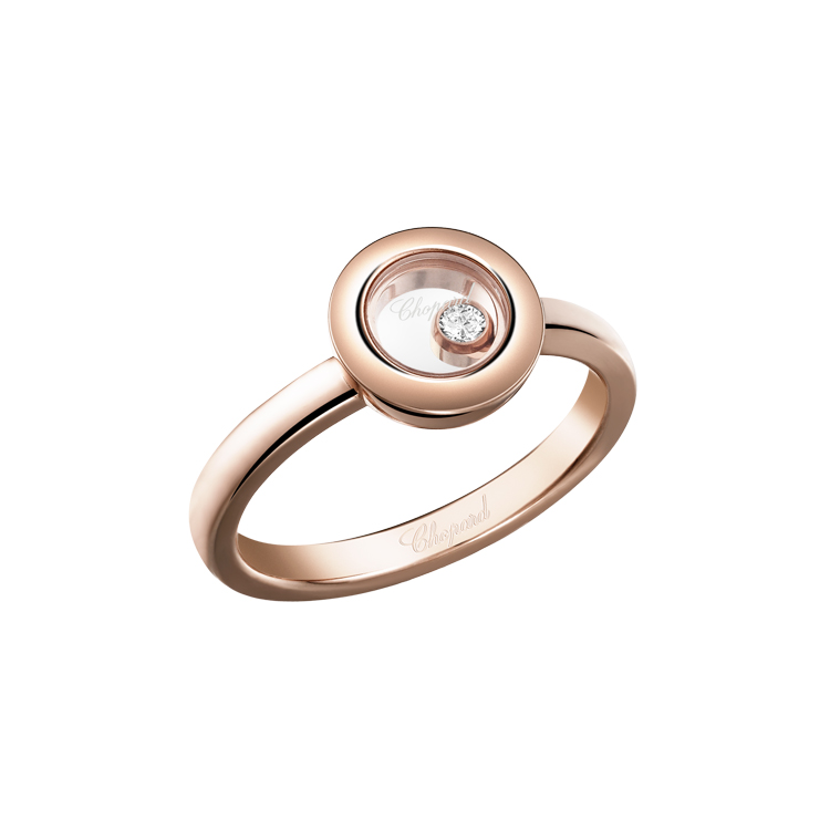 Zlatý prsten chopard happy diamonds 82A017-5111