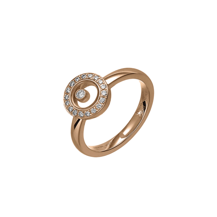 Zlatý Prsten Chopard Happy Diamonds 82A017-5209