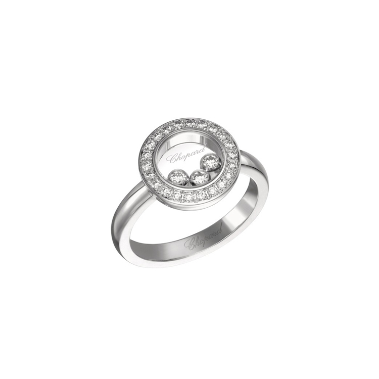 Zlatý Prsten Chopard Happy Diamonds 82A018-1211