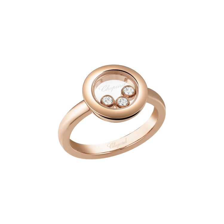 Zlatý Prsten Chopard Happy Diamonds 82A018-5110