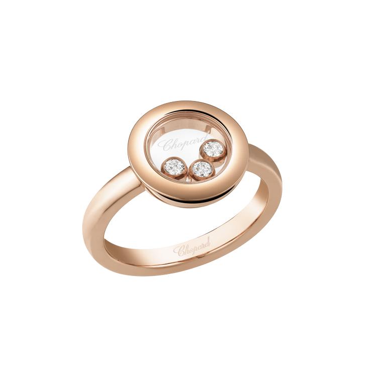 Zlatý Prsten Chopard Happy Diamonds 82A018-5111
