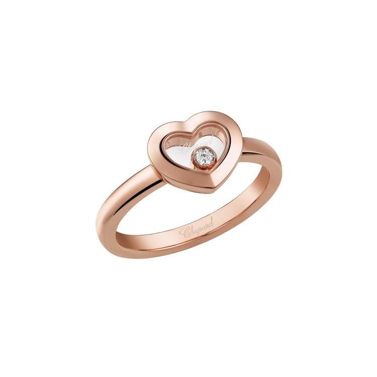 Zlatý Prsten Chopard Happy Diamonds 82A054-5110