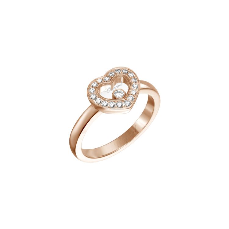 Zlatý Prsten Chopard Happy Diamonds 82A054-5212
